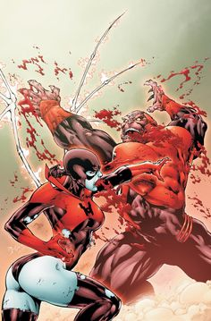 Red Lanterns Vol.1 #5 (Cover art by Ed Benes)