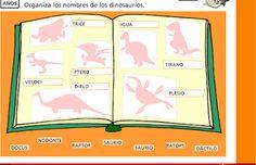 Escuela infantil castillo de Blanca: LOS DINOSAURIOS DE CASALS