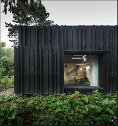 Holzfassade 08_Pariser Büro Marchi Architectes_Fotograf Fernando Guerra_ Normandie