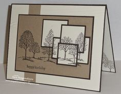 Layered Lovely as a Tree card by Sara Hoogendoorn.... (change sentiment)