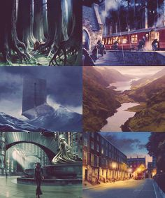 Harry Potter and the Order of the Phoenix: Scenery Concept Art