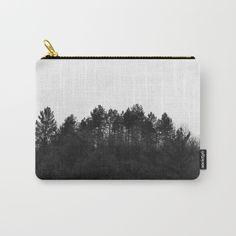 Crest Pouch by ARTbyJWP #pouch __________ Organize your life with one of our Carry-All Pouches. Available in three sizes with wrap-around artwork, these pouches are perfect for carrying toiletries, art supplies and makeup-or fit an iPad in the large one. Comes with the ever-awesome YKK zipper, a strong canvas-like exterior, a 50/50 poly-cotton black interior lining and is machine washable. Carry on, carry on.