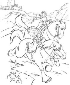Brave coloring page 81