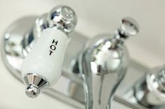 Shine Chrome Sink Fixtures: For lime build-up, use a paste of 2 tablespoons salt, and 1 tablespoon white distilled vinegar