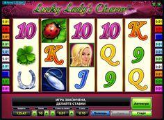 Spill på spilleautomat Lucky Lady's Charm Deluxe for penger. Temaet for spilleautomaten Lucky Lady's Charm Deluxe, som er utviklet av Novomatic, er viet til flaks talismaner. Det kan spilles for ekte penger, blir rikere med hver betaling. Eller helt gratis, bare nyte gameplay spilleautomat Lucky Lady's Charm Deluxe og opplever det i sin