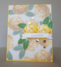 Picture Perfect, Stampin Up, 2016 Occasions Catalog, Roses, The Stamp Cycle