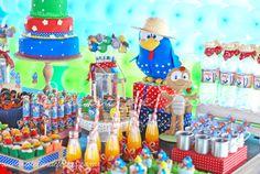 Fazendinha da Galinha pintadinha Atelier de Festas