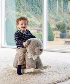 Rocking Bear - Boris - Rocking Animals & Horses - Mamas & Papas