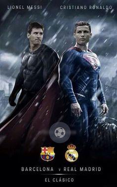 Lionel Messi vs Cristiano Ronaldo | Batman vs Superman | El Clasico