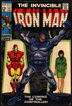 IRON MAN #12 Archie Goodwin George Tuska 1st Appearance of The Controller & Origin Basil Sandhurst AVENGERS