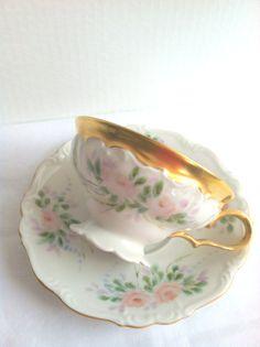 Vintage Edelstein Bavaria Germany Tea Cup and by MariasFarmhouse, $65.00