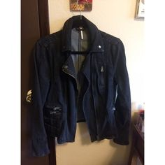 Free people black denim fitted jacket Black free people fitted denim jacket. Worn a few times but still in almost perfect condition.      Next day shipping  Free People Jackets & Coats Jean Jackets