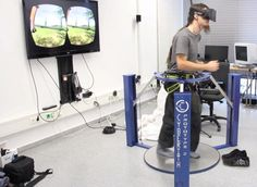 Virtualizer VR Treadmill Makes Great Use of the Oculus Rift - http://www.crunchwear.com/virtualizer-vr-treadmill-makes-great-use-oculus-rift/