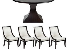 Chic Combo - Scallop Dining Collection | Dining Combos | Chic Combos | Furniture | Z Gallerie