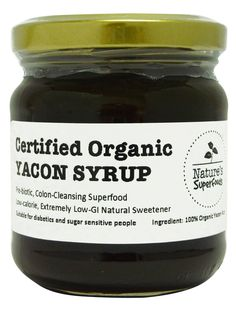 yacon syrup...seen this on Dr.oz!...its suppose to be close to the taste of rasians or dates and is the consistancy of molasses...no more than one to two tablespoons a day and take it before or with a meal...it suppose to help with weight loss for more info...look it up for yourself it sounds amazing!