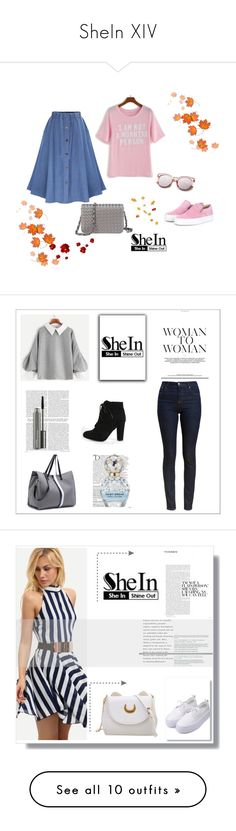 """""""SheIn XIV"""" by nermina-okanovic ❤ liked on Polyvore featuring shein, Balmain, Marc Jacobs and MAC Cosmetics"""