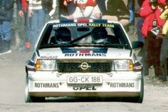 Opel Ascona 400 Rally Version (B) Monte Carlo Rally, John Collins, Rally Raid, Martini Racing, Audi Sport, Car Wheels, Car And Driver, Le Mans, Hot Cars