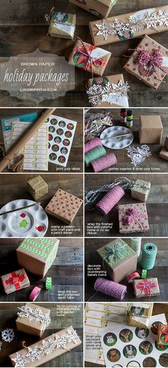 BrownPaperPackagesTutorial- Woodland Sticker download- go to the end of the post for the download link- save the pdf!