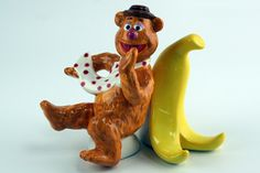 Westland Giftware Fozzie and Banana Salt and Pepper Shakers for sale online Westland Giftware, Cartoon House, The Muppet Show, Cool Kitchen Gadgets, Salt And Pepper Set, Salt Pepper Shakers, Sugar And Spice, Cookie Jars, Spice Things Up