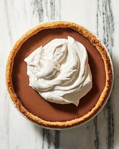 Milk-Chocolate Pudding Pie Recipe | Martha Stewart Living