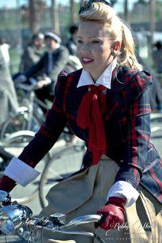.La Tweed Ride Madrid .