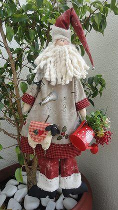Meu Noel prontinho...