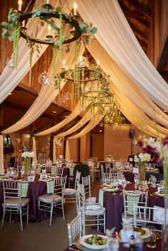 Charming vintage decor totally transforms virginia wedding venue wedding decor ceiling trey ceiling junglespirit Image collections