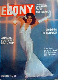 Ebony magazine, November 1971 — Diana Ross
