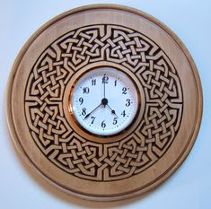 wood carved clocks   Wood Carving Designs