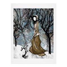 Amy Smith Winter 1 Art Print | DENY Designs Home Accessories