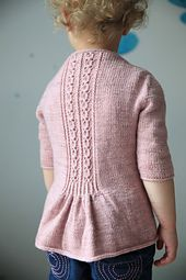 This garment is worked seamlessly from the top-down using the contiguous sleeve method developed by Susie Myers, SusieM