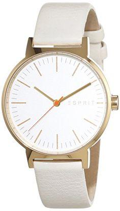 Esprit Damen-Armbanduhr Nelly Analog Quarz Leder ES108312003 - http://uhr.haus/esprit/esprit-damen-armbanduhr-nelly-analog-quarz-leder