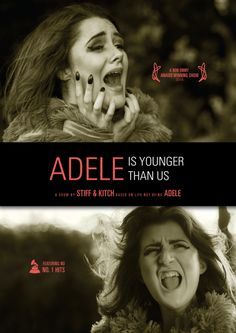 Adele is Younger Than Us - London Previews at the Battersea Barge July 26th & 28th. Tickets https://www.ticketsource.co.uk/avalanchetheatre.