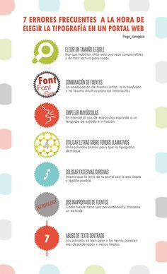 7 errores tipográficos para tu web