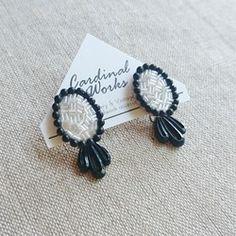 Stud Earrings, Embroidery, Beads, Accessories, Vintage, Jewelry, Design, Ear Rings, Schmuck