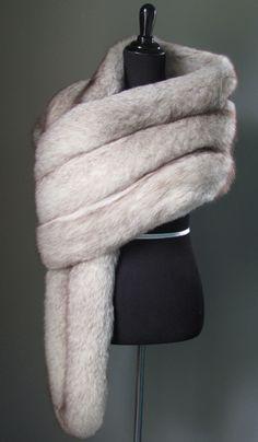 $1,210 - Stay luxuriosuly warm...Blaze & Lawrence Luxury Furs www.etsy.com/shop/AutumnandYosVintage?ref=hdr_shop_menu Ultimate Luxury Gift Or Wedding Bridal Prom Formal Accessories/ Hollywood Starlet Norwegian Grey Brown Fox Fur Wrap/Vintage Stole Shrug Mех норка, 모피 밍크, 毛皮 狐狸, piel visón fourrure vison pele Pelz Nerz Päls pelliccia visone pels хутро лисиця bont ثعلب ترف 毛皮 ミ חַרפָּן שועל #Luxury #Gift #Accessories #Fashion #StreetStyle #Wedding #Prom #Formal #Classic #Fur