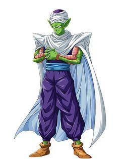 """Piccolo (ピッコロ, Pikkoro), también conocido como """"Piccolo Ma Junior"""" (ピッコロ・ジュニア, Pikkoro Ma Junia) o simplemente """"Ma Junior"""" (Ma Junia), es un personaje ficticio y es miembro de los Guerreros Z que aparecen en el manga y anime de Dragon Ball. Este surgió tras ser creado en los últimos momentos de vida de su padre, y con el paso del tiempo fue haciéndose menos malvado hasta finalmente convertirse en un ser bondadoso. También comenzó a tomarle cariño a Son Gohan, a quien veía ..."""