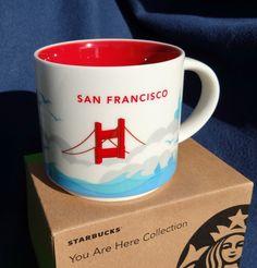 Starbucks SAN FRANCISCO Kaffeetasse. You are here Collection. City Mug . NEU OVP