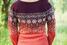 Ravelry: Happily Sweater by Katy Banks
