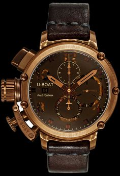 U-Boat U-51 Bronze 6495 Watch - Watchismo is an Authorized U-Boat Dealer