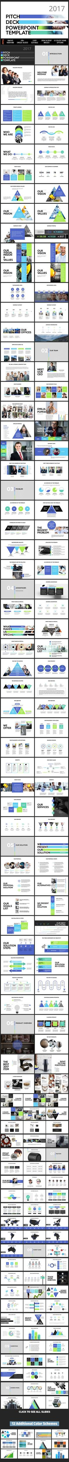 2017 PITCH DECK Powerpoint Presentation Template (PowerPoint Templates)