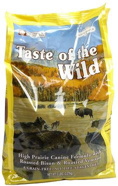 Taste of The Wild High Prairie - Roasted Bison and Venison - 5 lb *** Check out the image by visiting the link. (This is an affiliate link and I receive a commission for the sales)