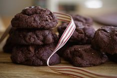 london bakes | dark chocolate and olive oil cookies