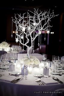 Lovely tree center piece
