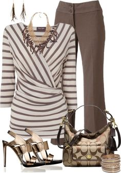 """""""Office to night on the town"""" by lichiep on Polyvore"""