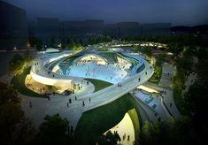 Proposta vencedora para a Praça Central de Magok / Wooridongin Architects