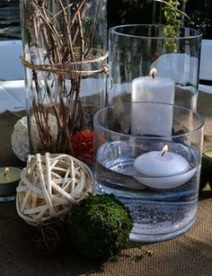 masculine table centerpieces - Google Search