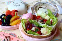 Pita salad bento