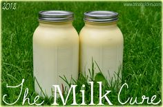 """positively fascinated by this """"milk cure"""" cleanse @trinaholden is doing!"""