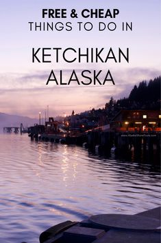 Free and cheap things to do during your cruise or trip to Ketchikan Alaska! Take a cruise now on the best cruise ships Alaska Cruise Princess, Alaska Cruise Tips, Alaska Travel, Alaska Trip, Alaska Honeymoon, Honeymoon Ideas, Packing For A Cruise, Cruise Travel, Cruise Vacation